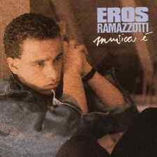 CD EROS RAMAZZOTTI MUSICA E' 1 STAMPA