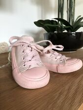 Converse Size 5 Infant Pink trainers shoes