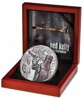2020 NED KELLY $5 2oz Silver Proof Coin