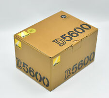Nikon D5600 Gehäuse 24MP Digitalkamera Schwarz NEU OVP