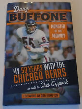 Doug Buffone: Monster of the Midway, Chicago Bears, Signed by Four