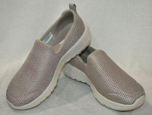 Skechers Women's GOwalk Joy Taupe Casual Walking Sneakers-Sz 7.5/8/8.5/9.5 NWB