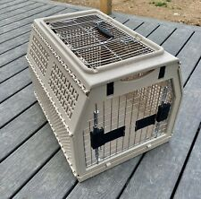 NYLABONE MEDIUM DOG CAT PET CRATE KENNEL CARRIER 21X16X15  FRONT & TOP OPENING