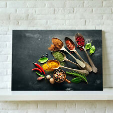 Unframed Modern Canvas Print Wall Art Painting Picture-Kitchen Flavors Seasoning
