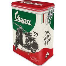 Vespa Scooter Classic Aromadose Clamp Lock Storage Box Metal