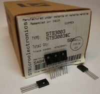 10 pieces ST93003   PNP POWER TRANSISTOR  400V/500V 1,5A 40W for CFL NEW ~