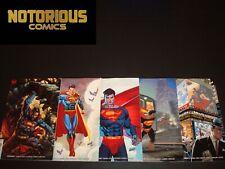 Superman 7 8 9 10 11 Complete Variant Comic Lot Run Set DC Bendis Collection
