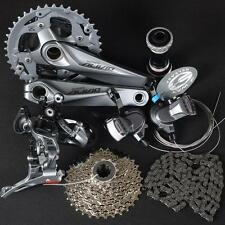 SHIMANO Mountain Bike ALIVIO M4000 Group Set 3x9/27 Speed 7pcs/Set Crank 170MM