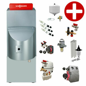 Plus+Paket Öl-Brennwertkessel Viessmann Vitorondens 200-T 20,2 kW Speicher 150 L