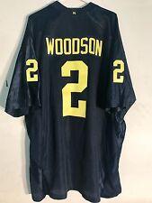 Adidas Premier NCAA Jersey Michigan Wolverines Charles Woodson  Navy sz 2X