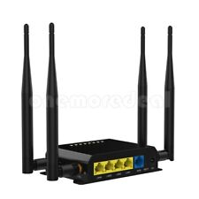 HOT 2.4GHz 300Mbps Wirelesss Wifi Router with 4LAN Ports 3G 4G For Asia EU US AU