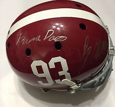 Jonathan Allen SIGNED Alabama Football Full Size Helmet AUTO W/COA & Photo Proof