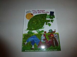 The Rabbit And The Turtle by Eric Carle, 2008 HB Signed  250