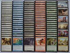Lot de toutes les 101 cartes communes Théros Magic MTG françaises