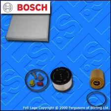 KIT Di Servizio Per FORD S-MAX 2.0 Tdci Olio Carburante Cabin filtri (2006-2010)