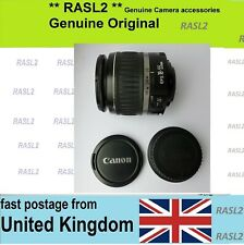 Canon EF-S 18-55mm F/3.5-5.6 II  Lens  With Front & Rear Caps ,