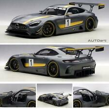 AUTOART 81530 MERCEDES AMG GT3 PRESENTATION CAR GREY #1 DIECAST 1:18