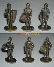 ARMATURE SOLDATINI METALLO KINDER FERRERO »»»»» Kompletter Metallfiguren Rüstung