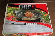Girarrosto per BBQ a Carbone Weber 57 cm Cod art. 7494 NUOVO scatola SIGILLATA