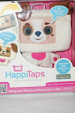 "HAPPITAPS Huggable Smartphone Friends""Puppi Love""iPhone/iPod Touch Compatible"