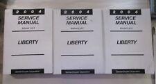 2004 JEEP LIBERTY FACTORY SERVICE SHOP REPAIR MANUAL SET