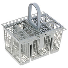 Grey Dishwasher Cutlery Basket Tray & Removeable Handle For Brandt & De Dietrich