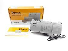 Televes Multischalter MS98NG 9-Eingangs-Multischalter mit integriertem Netzteil
