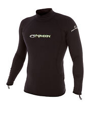 Inverno a maniche lunghe Rash Vest Base Layer elastico THERMAFLEECE Fodera-Taglia Small