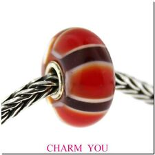 AUTHENTIC TROLLBEADS 61408 Red Symmetry