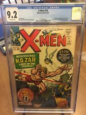 X-MEN #10 (1965)  CGC 9.2 NM-  Rare Pristine Copy! First Silver Age Ka-zar!