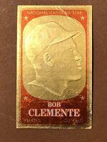 Clemente Card #19 Bob 1965 Topps Embossed Roberto