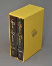 A Game of Thrones, George RR Martin, signed ltd. edition, Subterranean Press