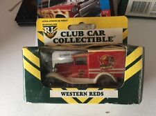 Matchbox 95 ARL NRL Club Car Collectible Rugby League Model A Western Reds