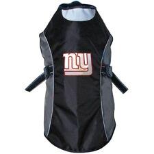 New York Giants NFL Water Resistant Reflective Dog Pet Jacket Sizes XS-XL