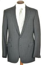 Perfect $4995 Ralph Lauren Purple Label Custom Fit Char Grey Pinstripe SUIT 40 L