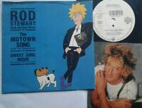 "Rod Stewart / The Motown Song 7"" Vinyl Single 1991 mit Schutzhülle"