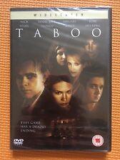 Taboo-Nick Stahl Eddie Kaye Thomas January Jones(R2 DVD)New+Sealed Amber Benson