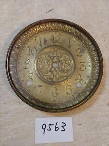 INGRAHAM MANTLE CLOCK DIAL & BEZEL & GLASS