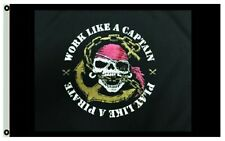 Play Like a Pirate Boat Flag 3X5Ft Banner Us shipper