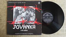 Francesco Lavagnino – Jovanka E Le Altre (Orig. Soundtrack)-  LP colonna sonora