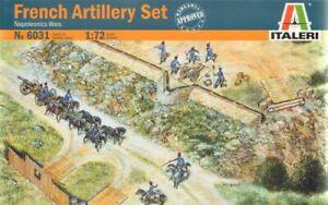 Italeri 1/72 Napoleonic French Artillery Set # 6031