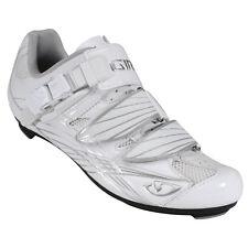 Giro Solara Womens Road Shoes EU 40 UK 6.25 Patent White / Silver
