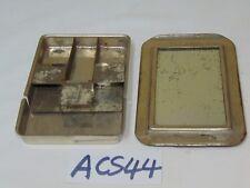 Boye Handy Pin Case Boye Needle Co. Metal Box Mirror 1920'S Antique Metal