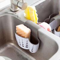 Kitchen Storage Rack Sponge Holder Organizer Sink Drainer Bathroom Shelf Basket