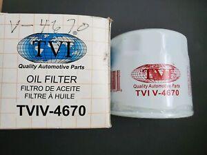 Engine Oil Filters V4670 Group-7 Made in USA Fits Chrysler Dodge TVIV-4670