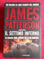 book libro James Patterson Maxine Paetro IL SETTIMO INFERNO 2008 LONGANESI (L66)