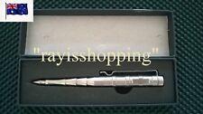 GENUINE LAIX STAINLESS B009 Tactical Pen Glass Breaker Military 103 GRAMS!