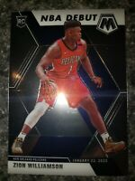 2019-20 Panini Mosaic Rookie RC Zion Williamson NBA Debut New Orleans Pelicans