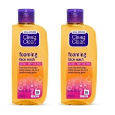 Pack of 2 Clean and Clear Foaming Face Wash 100 ml Each