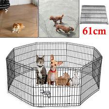 Large Pet Dog Pen Puppy Cat Foldable Playpen Indoor/Outdoor Enclosure Run Cage